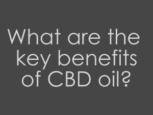 key benefits of cbd oil